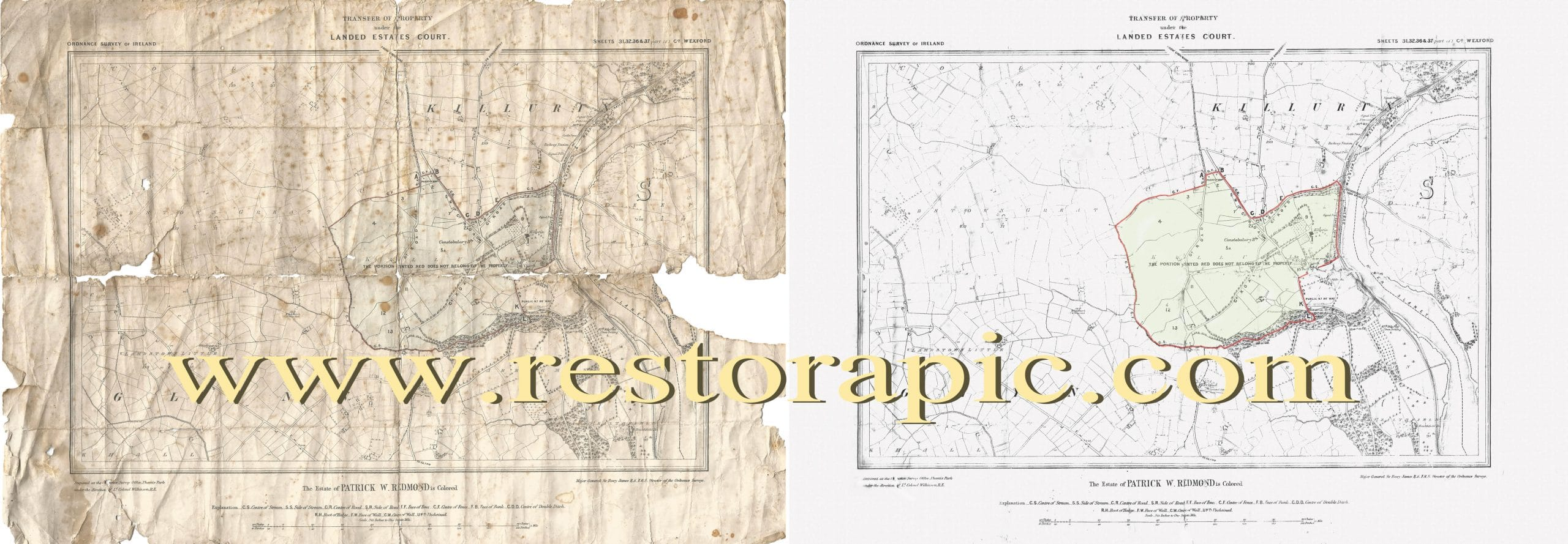 old map wexford