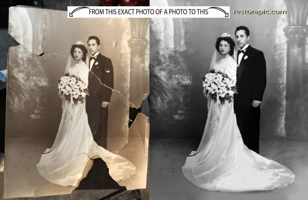 Photo to Photo Restoration