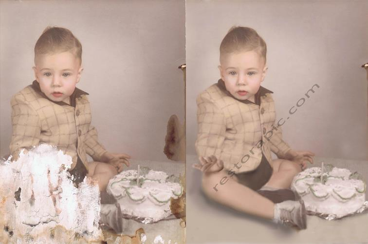 Restore a old photo