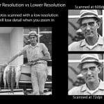 High Resolution vs Low Resolution