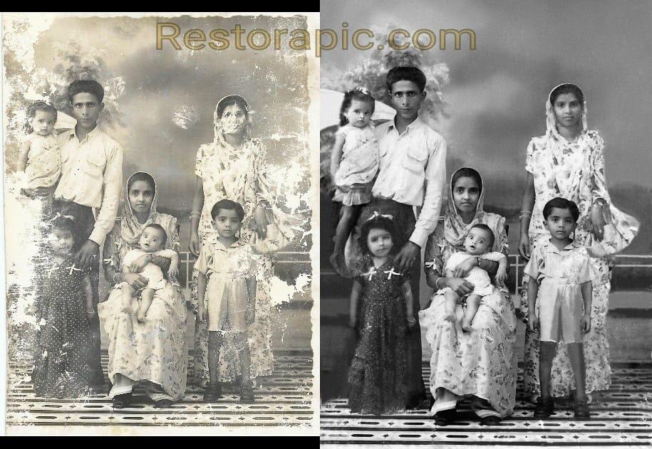 Professional Photo Restoration